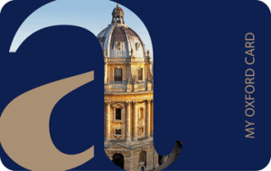 Oxford University Alumni Card